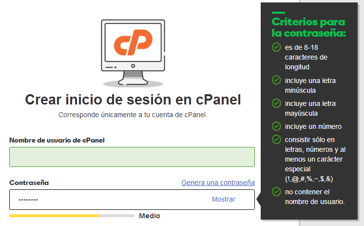 instalar cpanel con wordpress