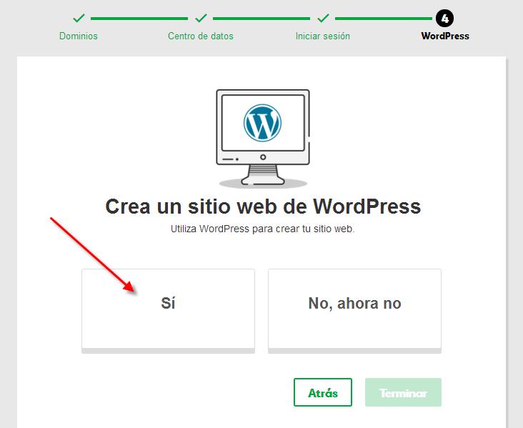 wordpress fácil y rápido
