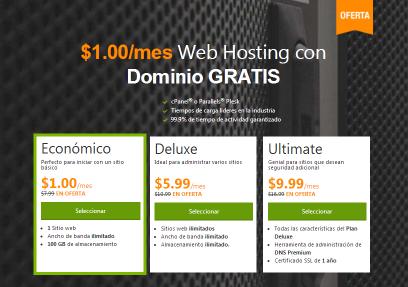 servicio de hosting