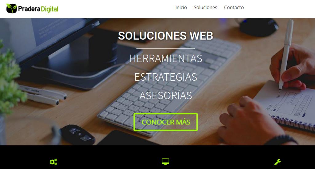 como crear un sitio web generico